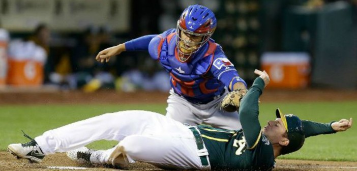 Rangers come back to top A's