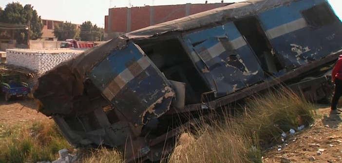 At least 69 injured in train derailment in Egypt