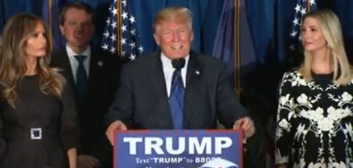 Donald Trump wins New Hampshire GOP Primary