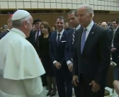 Biden's grand welcome at Italian PM's residence