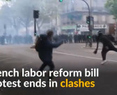 Strikes, protests in France against disputed labor reforms