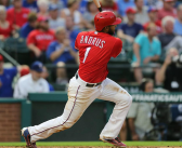 Mazara feeds Rangers' win