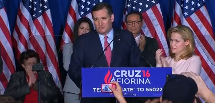 Video shows Cruz accidently elbowing wife in face