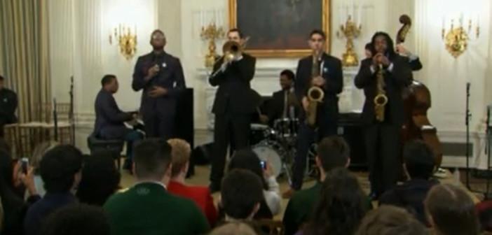 President Obama celebrates jazz at the White House