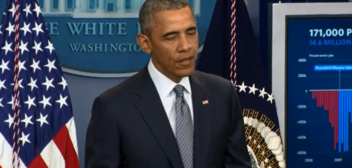 Obama says of Trump, 'This is not reality show'