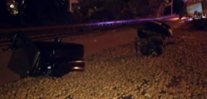 Highway blocked after truck spills spuds
