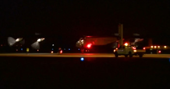 Solar plane leaves California for Arizona