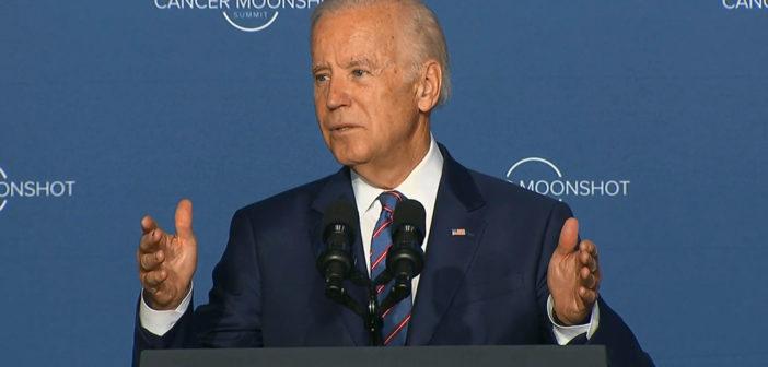 Biden puts pressure on cancer researchers to speed progress