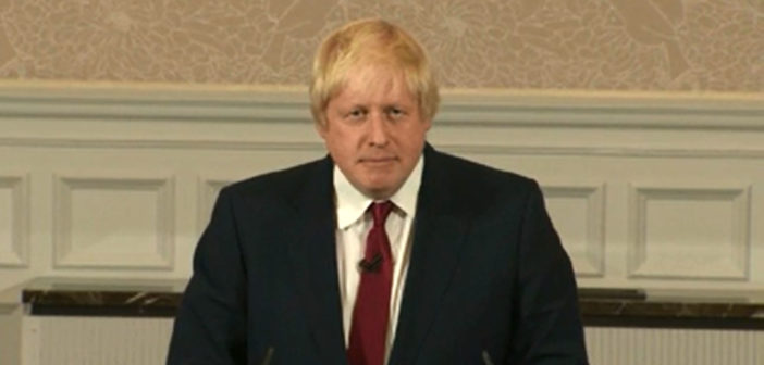 Boris Johnson won't run for leadership of Conservative Party