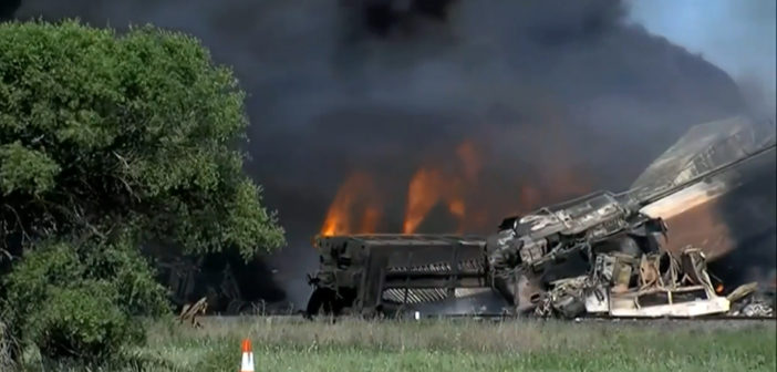 Injuries reported in Texas train crash