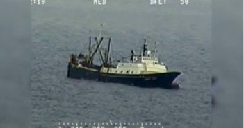 46 people rescued from sinking vessel off Alaska
