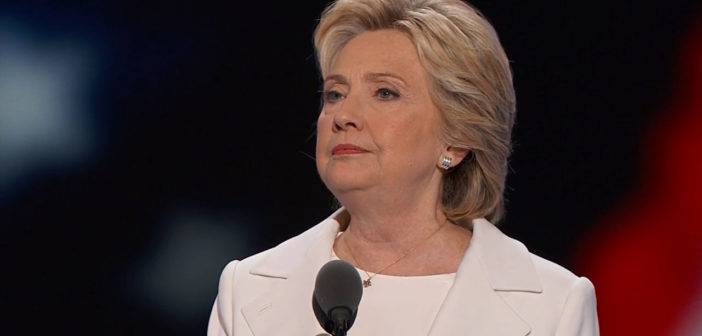 Clinton accepts nomination