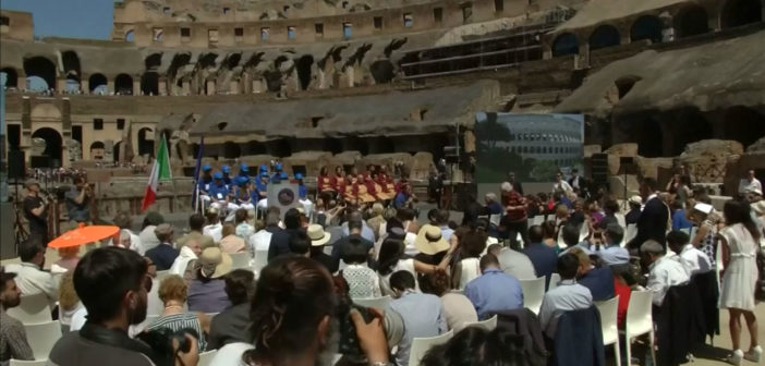 Rome's Colosseum cleaner after magnate-funded restoration