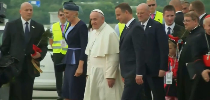 Pilgrims in Poland readying to welcome Pope Francis
