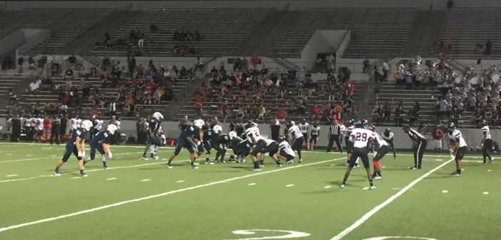 Eaton Eagles hand Braswell Bengals a loss in Braswell's first game ever