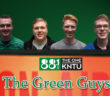 The Green Guys are: Zac Babb, Brady Pointer, Grayson Nolette, and Clay Massey