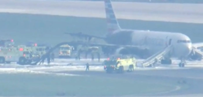 FAA reports minor injuries in Chicago plane fire