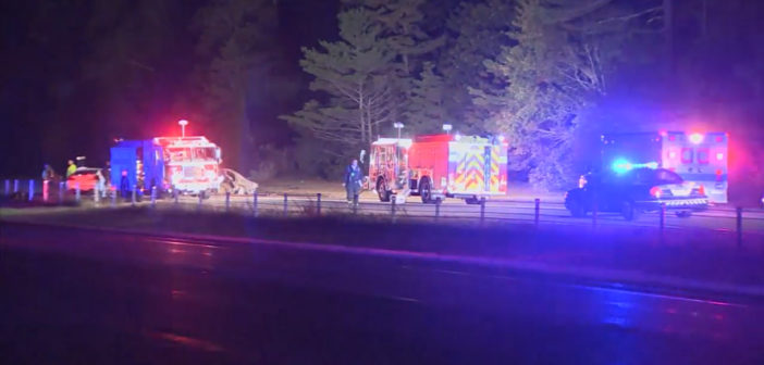 5 dead in wrong-way crash on Massachusetts highway