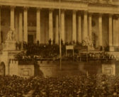 Maine college unveils rare photo of Lincoln's inauguration