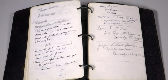 JFK diary written in post-World War II Europe up for auction