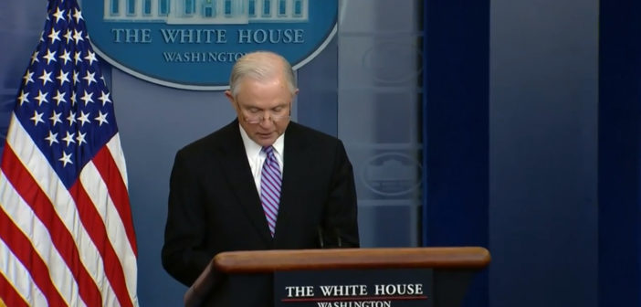 Attorney General Sessions: Sanctuary cities must end