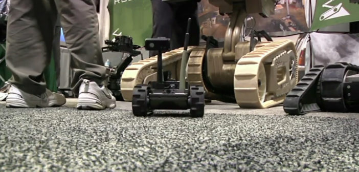 Robots, rappelling, rifles: Showcase of special ops gadgets