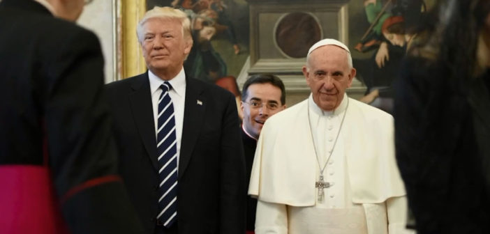 Pope, Trump set aside differences during meeting