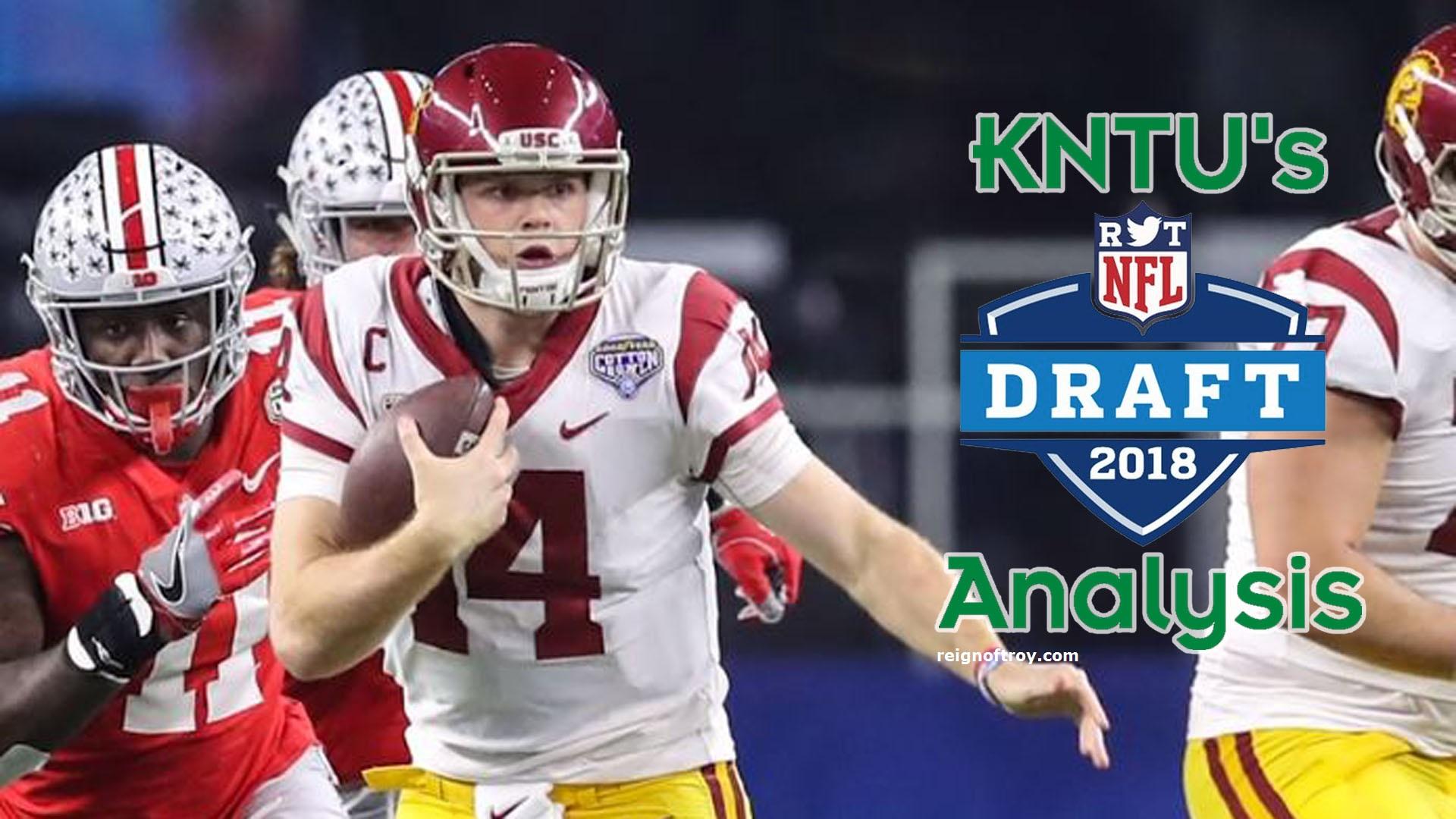Nfl Draft Analysis Quarterbacks Sam Darnold