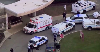 Suspect dead, 4 critical after hospital shooting