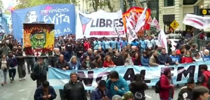 Argentina says 2018 inflation hits 47.6 percent